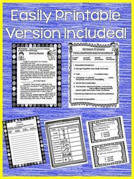 Reflexive Pronouns Interactive Notebook Practice for Google Drive  L.2.1.C