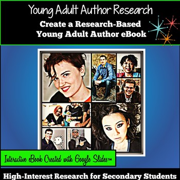 Google Classroom Research Project: Research a Young Adult Author