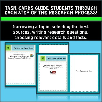 Google Drive Research Task Cards