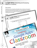 Google Drive--Searching and Evaluating Resource Credibility