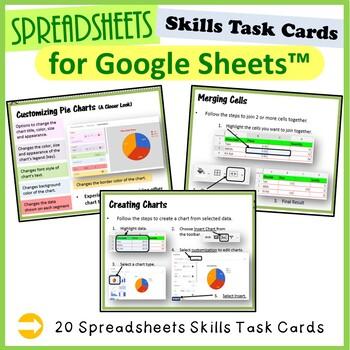 Google Drive Sheets Task Cards