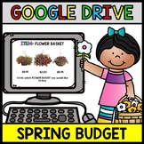 Google Drive Spring Budget - Special Education - Shopping - Life Skills - Money