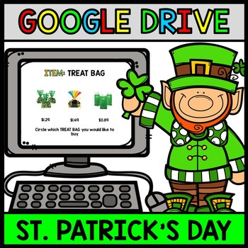 Google Drive - St. Patrick's Day Budget - Special Education - Shopping - Money