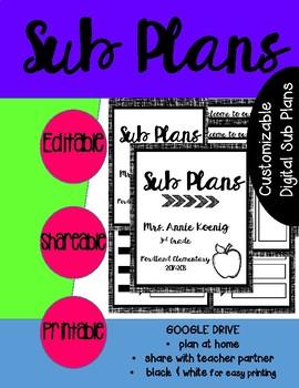Google Drive Sub Plans