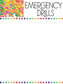 Google Drive Sub Plans - Editable