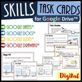 Technology Skills Task Cards Bundle for Google Drive™