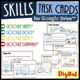Technology Task Cards Bundle for Google Drive™ - Save $2.50