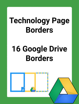 Google Drive Technology Page Borders