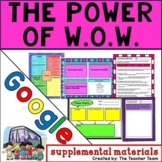 The Power of W.O.W Journeys 4th Grade Unit 1 Lesson 4 Google Drive Resource