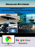 Google Drive Unsolved Mysteries Research Project: A Big6 R