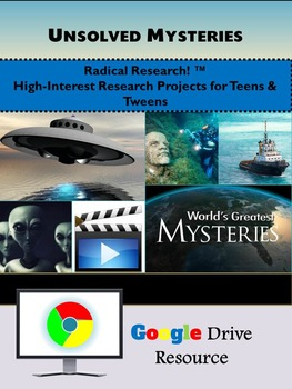 Google Drive Unsolved Mysteries Research Project