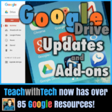 Google Drive Lesson Updates Add-Ons