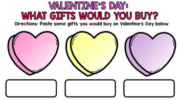 Google Drive - Valentine's Day - Special Education - Reading - Writing