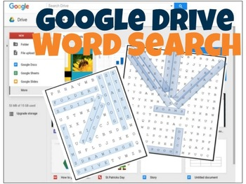 Google Drive Word Search