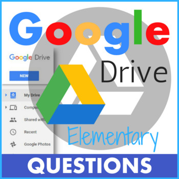 Google Drive Questions for Elementary Students