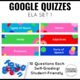 Google ELA Assessments for K-1