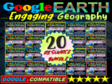 Google Earth: Engaging Geography assignment (20 different
