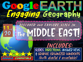 Google Earth: Engaging Geography assignment - MIDDLE EAST
