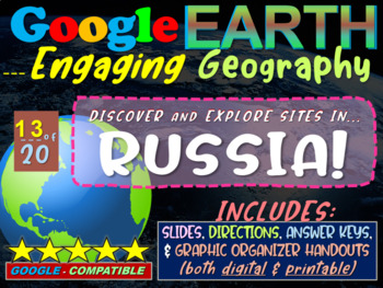 Google Earth: Engaging Geography assignment - RUSSIA