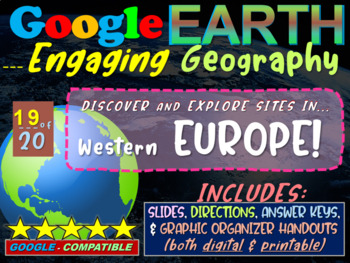 Google Earth: Engaging Geography assignment - WESTERN EUROPE