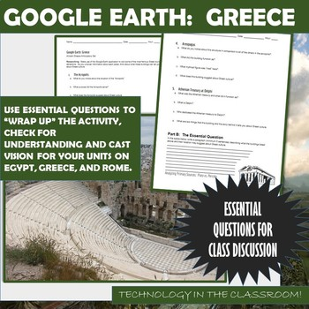 Google Earth:  Greece