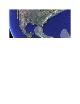 Google Earth Hurricane Season 2008