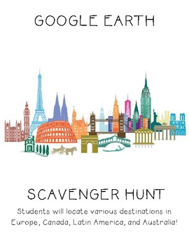 Google Earth Scavenger Hunt