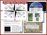 Google Earth Task Cards **Boom Cards**