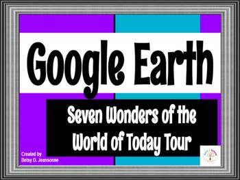 Google EARTH Tour - Seven Wonders of the World of Today