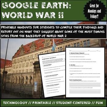 Google Earth:  World War 2