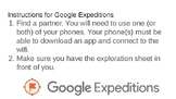 Google Expedition Into the Cell Instructions and Worksheet