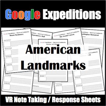 Google Expeditions American Landmarks