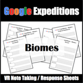 Google Expeditions Biomes