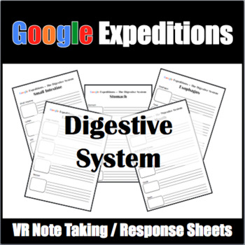 Google Expeditions Digestive System