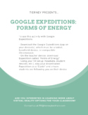 Google Expeditions: Forms of Energy