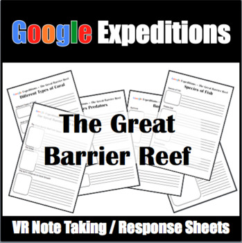 Google Expeditions Great Barrier Reef