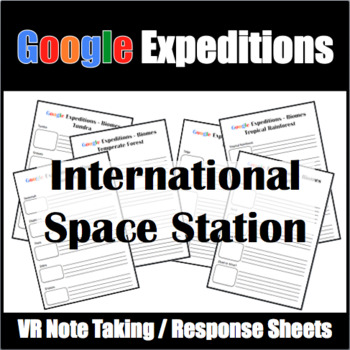 Google Expeditions International Space Station