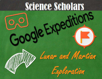 Google Expeditions - Moon & Mars