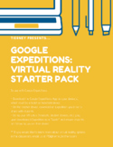 Google Expeditions: Virtual Reality Starter Pack (any content-area)