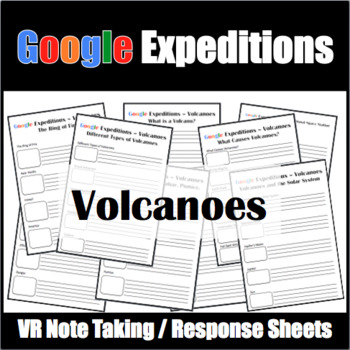 Google Expeditions Volcanoes