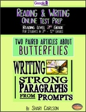 "SBAC Online READING & WRITING Test Prep ~ 2 Articles ~""State Fair & Butterflies"""