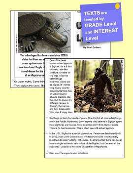 """SBAC Google FORMS ONLINE Test Prep~2 Texts PAIRED """"Stonefish & Deadliest Fish"""""""