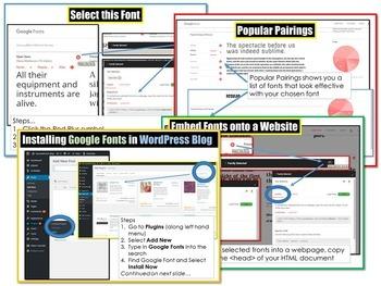 Google Fonts Guide GoogleFonts