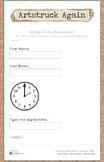 Google Form Common Core Measurement & Data Math Assessment (Grade 1)