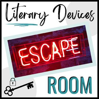 Google Form Digital Escape Room:  Literary Devices Version for Secondary ELA