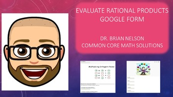 Google Form - Evaluate Rational Products