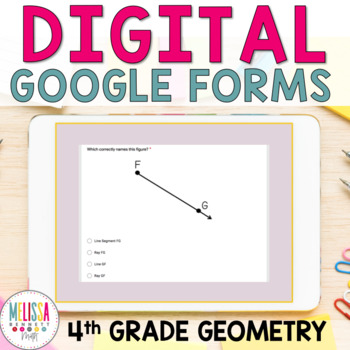 Google Form Geometry (points, rays, lines, line segments)