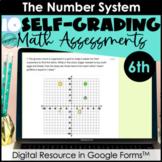 Google Form Math Assessments | Integers, Fractions, Decima