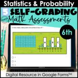 Google Form Math Assessments | Statistics & Probability |