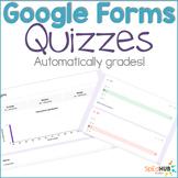 Google Form Quizzes